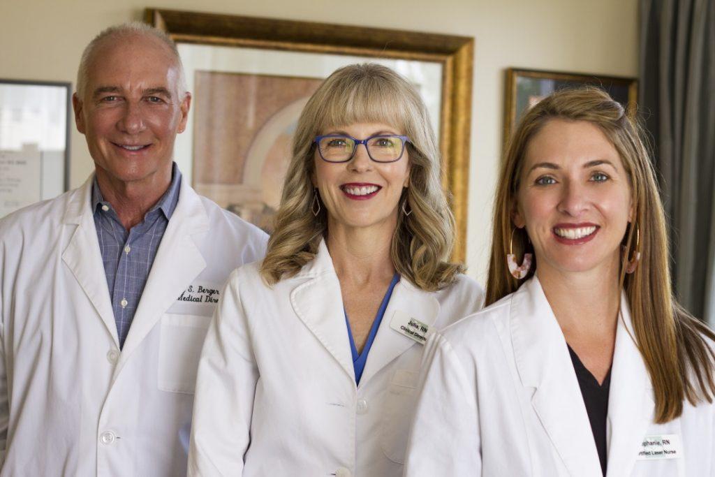 Dr Berger, Julia, Steph at Medical Day Spa Chapel Hill-1080x720