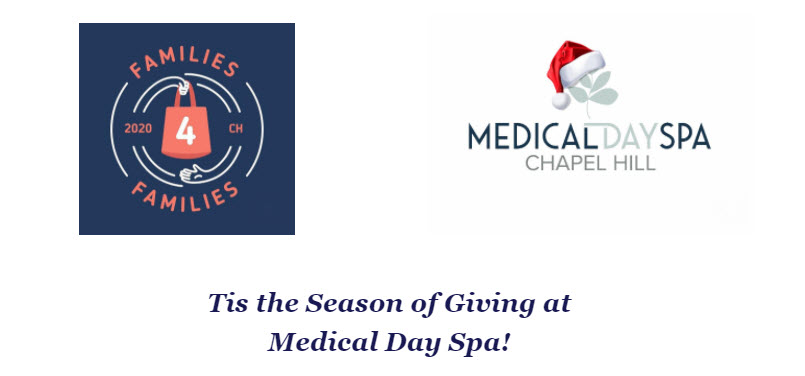 Families4Families Food Drive at Medical Day Spa of Chapel Hill