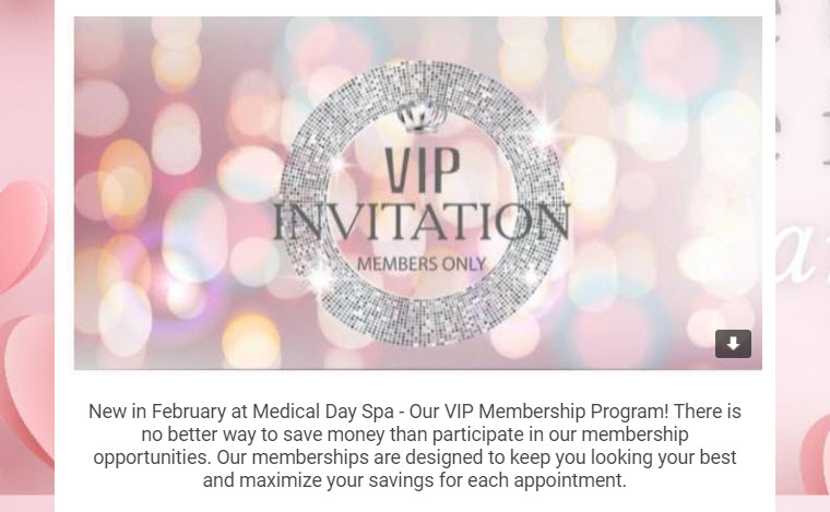 VIP Members Only Newsletter Invitation