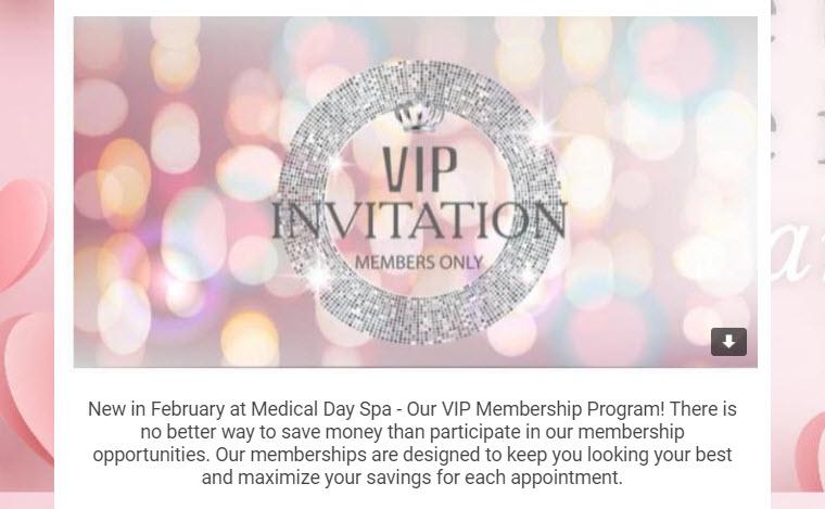 VIP Members Only Newsletter Invitation